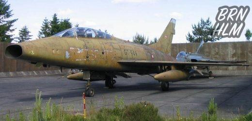 Jagerflyet der styrtede ned i Rutsker plantage