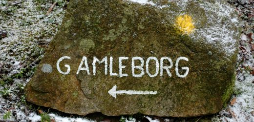 Gamleborg i Almindingen