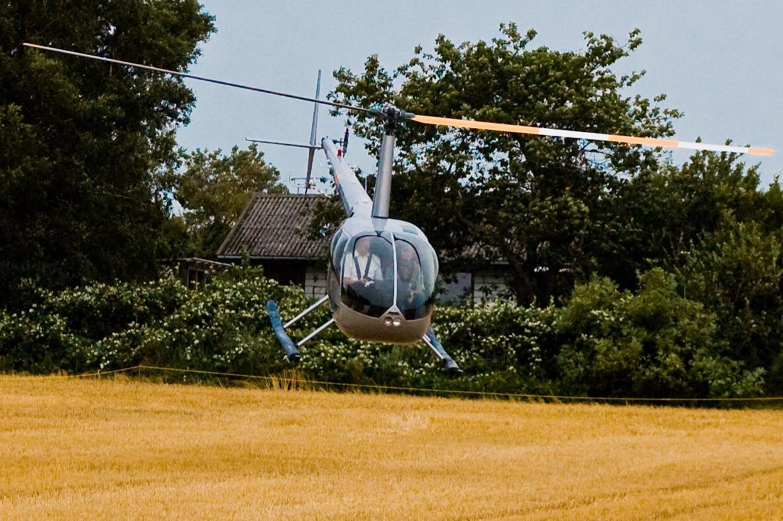 Lufthavne, flyvepladser og helikopterlandingspladser på Bornholm