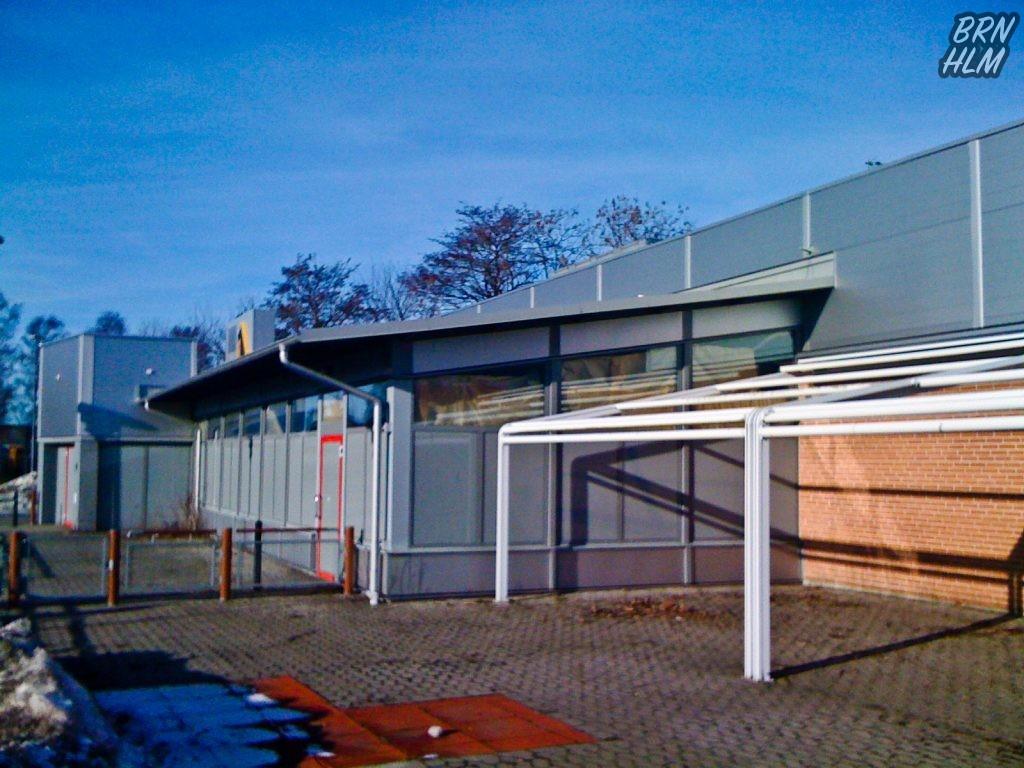 Den lukkede McDonalds i Rønne 2010