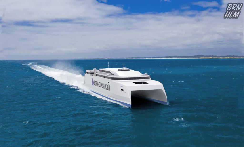 HSC Express 5 - Bornholmslinjen - Austal 2020