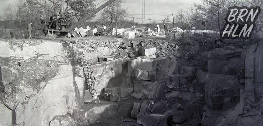 Bornholmske stenbrud, grus- og lergrave.