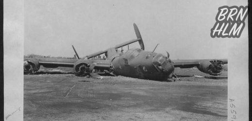 Flystyrtet ved Poulsker – Consolidated B-24 H Liberator