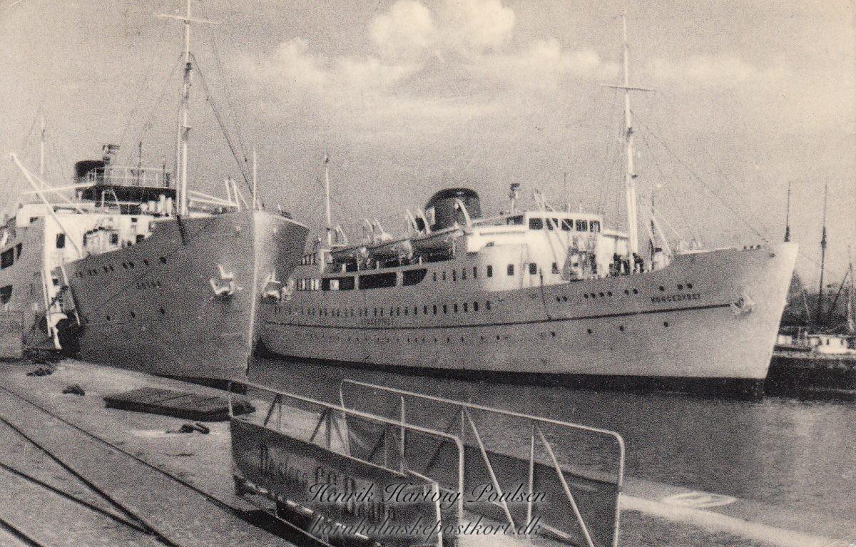 Dampskibsselskabet paa Bornholm af 1866 og Bornholmstrafikken