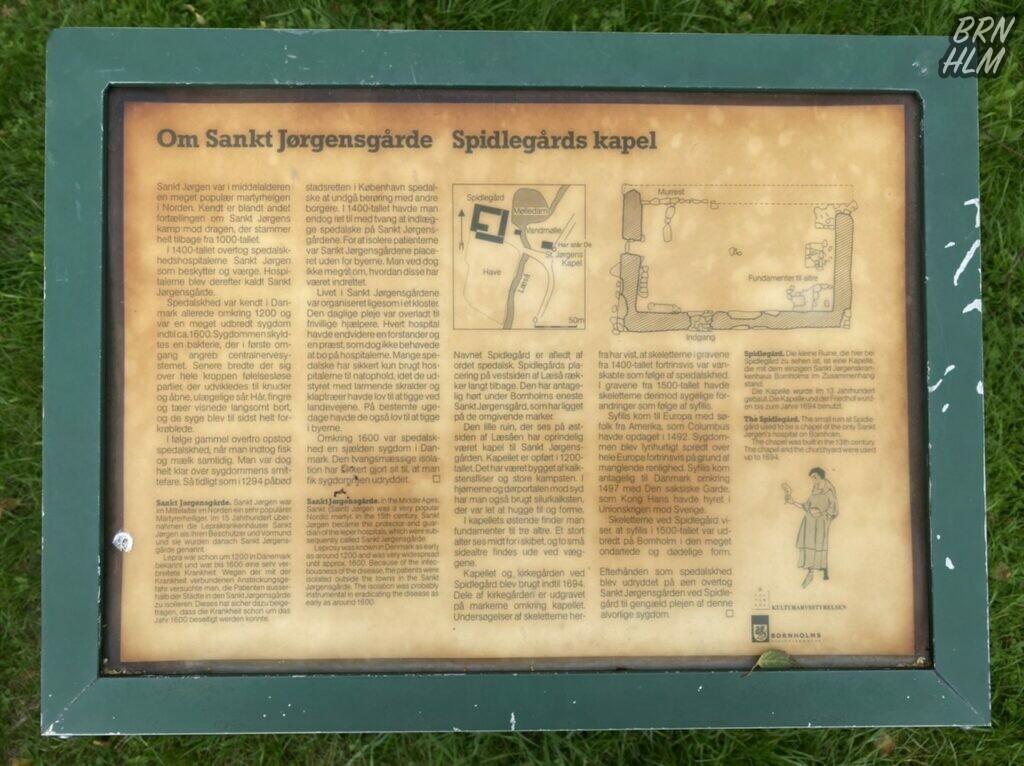 Kapellet ved Sankt Jørgensgården Spidlegaard