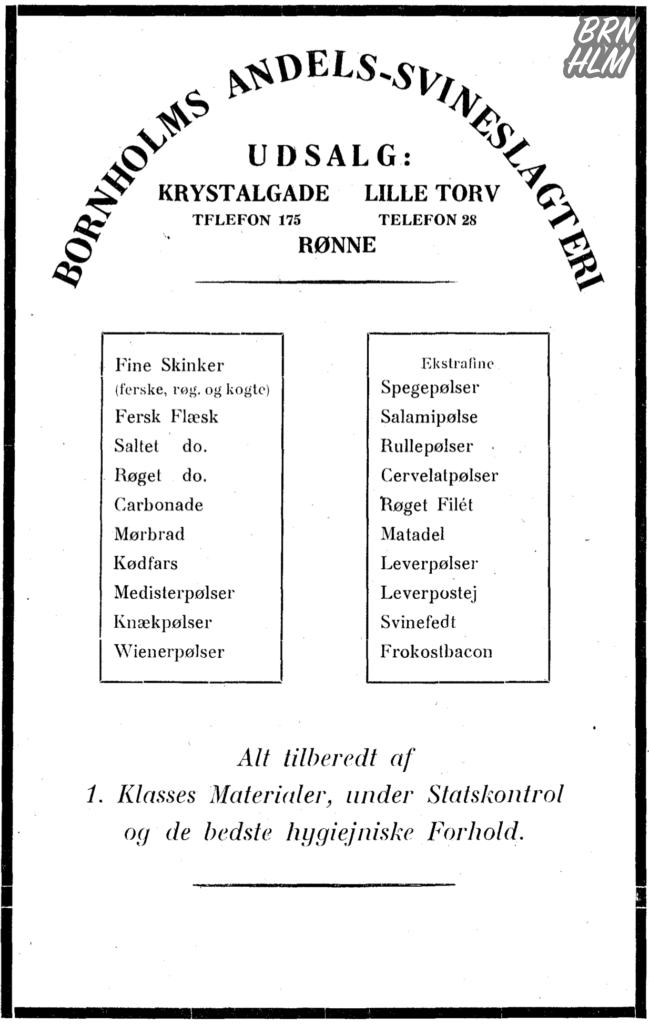 Bornholms Andels-Svineslagteri