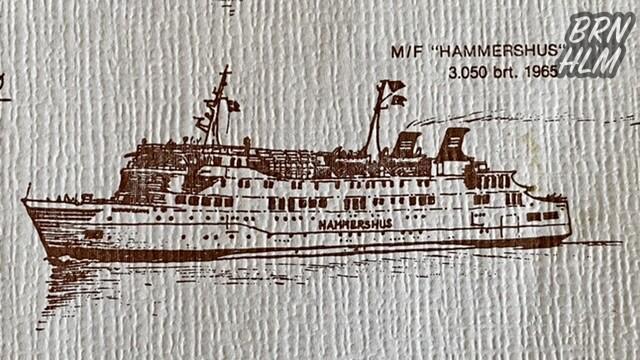 M/F Hammershus 1965-1993 - Dampskibsselskabet paa Bornholm af 1866