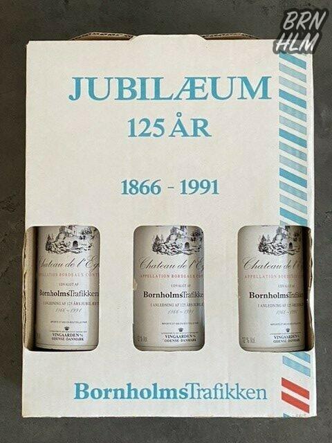 Jubilæumsvin udgivet i anledning af Bornholmstrafikkens 125 års jubilæum i 1991