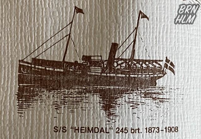 S/S Heimdal 1873-1908 - Dampskibsselskabet paa Bornholm af 1866