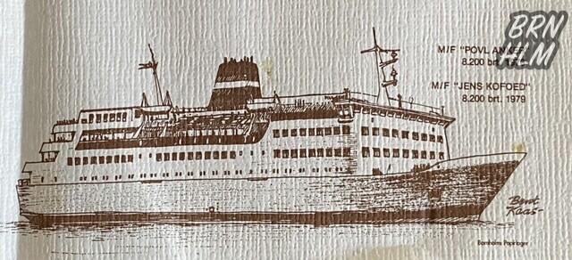 M/F Povl Anker og M/F Jens Kofoed - Dampskibsselskabet paa Bornholm af 1866