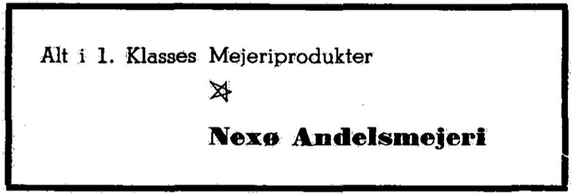 Nexø Mejeri og Flødeisfabrik