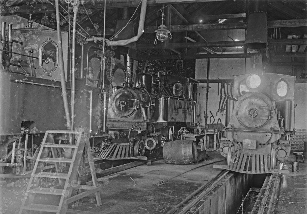 Damplokomotiver i Rønne H's Remise