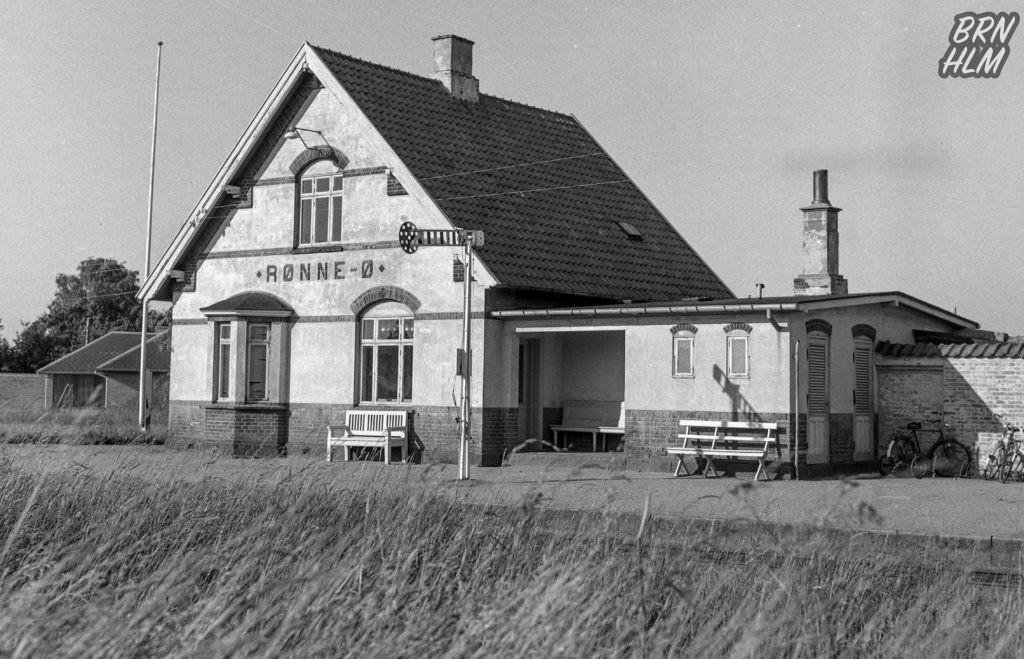 Rønne Ø Station - 1968