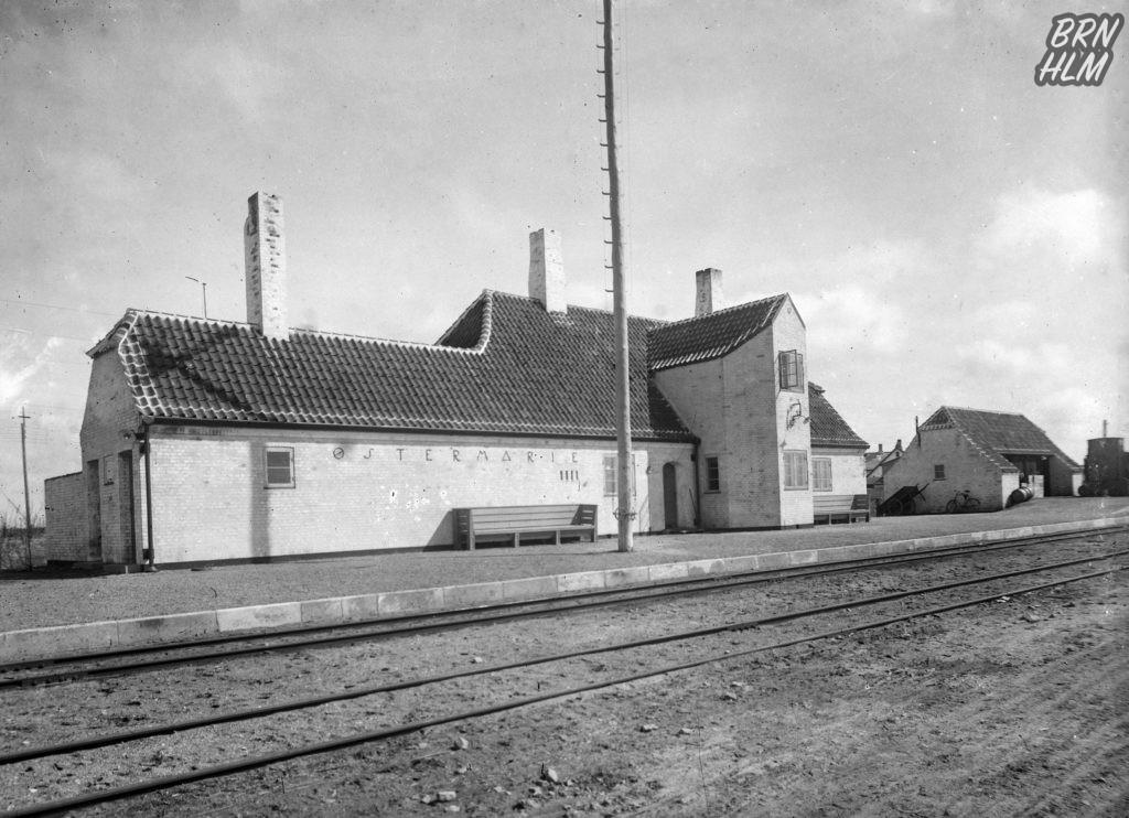 Østermarie Station - De Bornholmske Jernbaner
