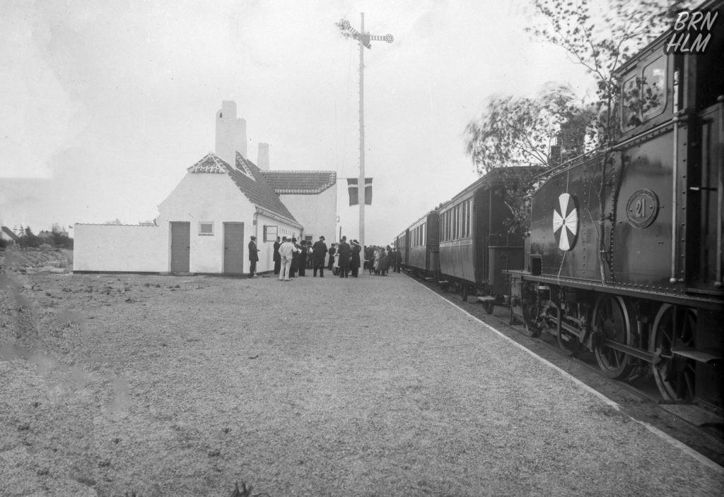 Østermarie Station indvies - 27. juni 1916