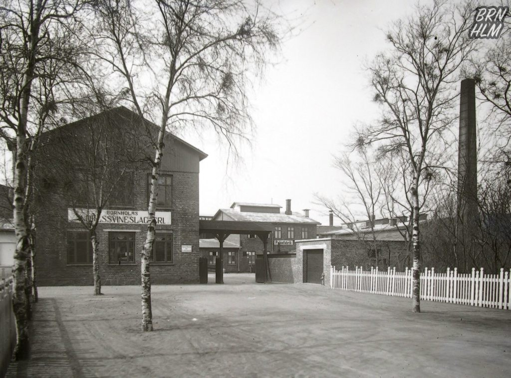 Bornholms Andelssvineslagteri samt Pølsefabrik - 1920