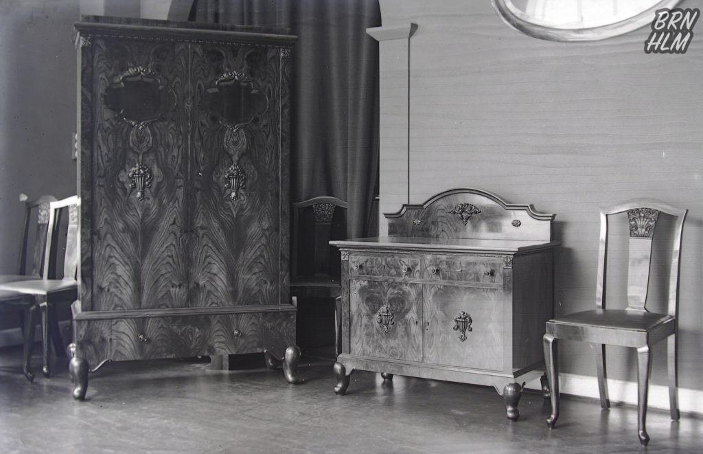 Møbel udstilling hos Jespersen og Nielsen - 1920