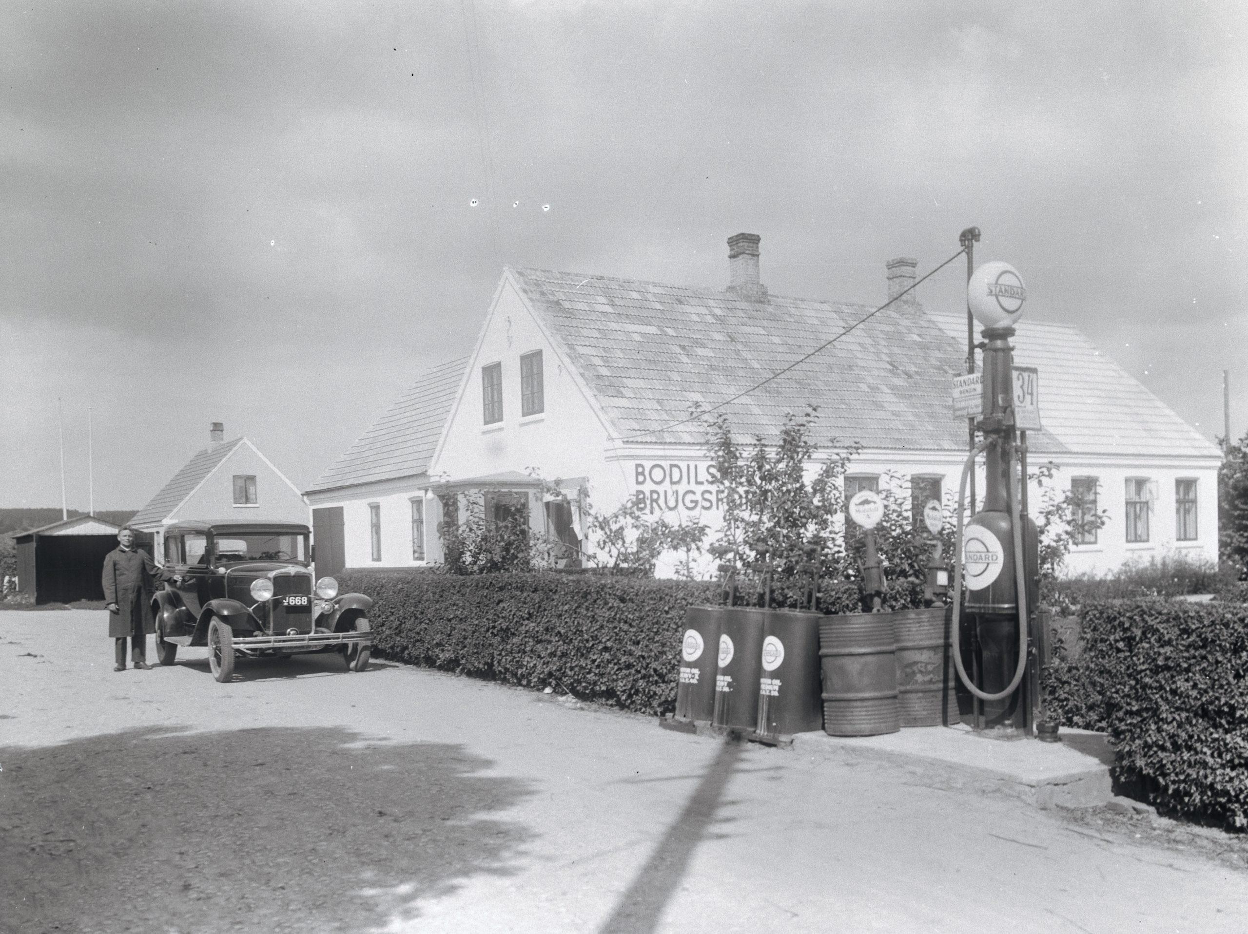 Bodisker Brugsforening og Standard Stander - 1932