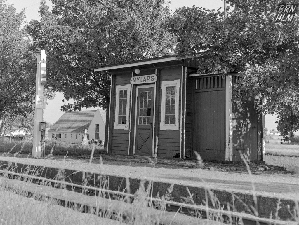 Nylars Trinbræt - 1968
