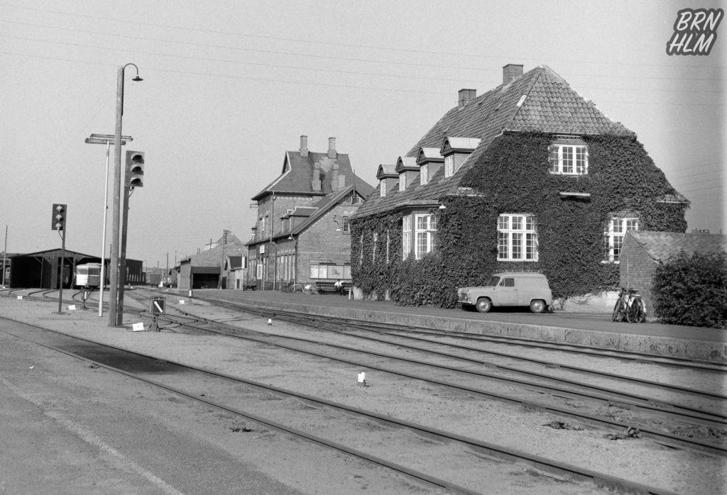 DBJ's Rønne H Station - 1968