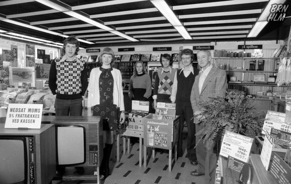 FONA Radios udstilling i Store Torvegade - 1976