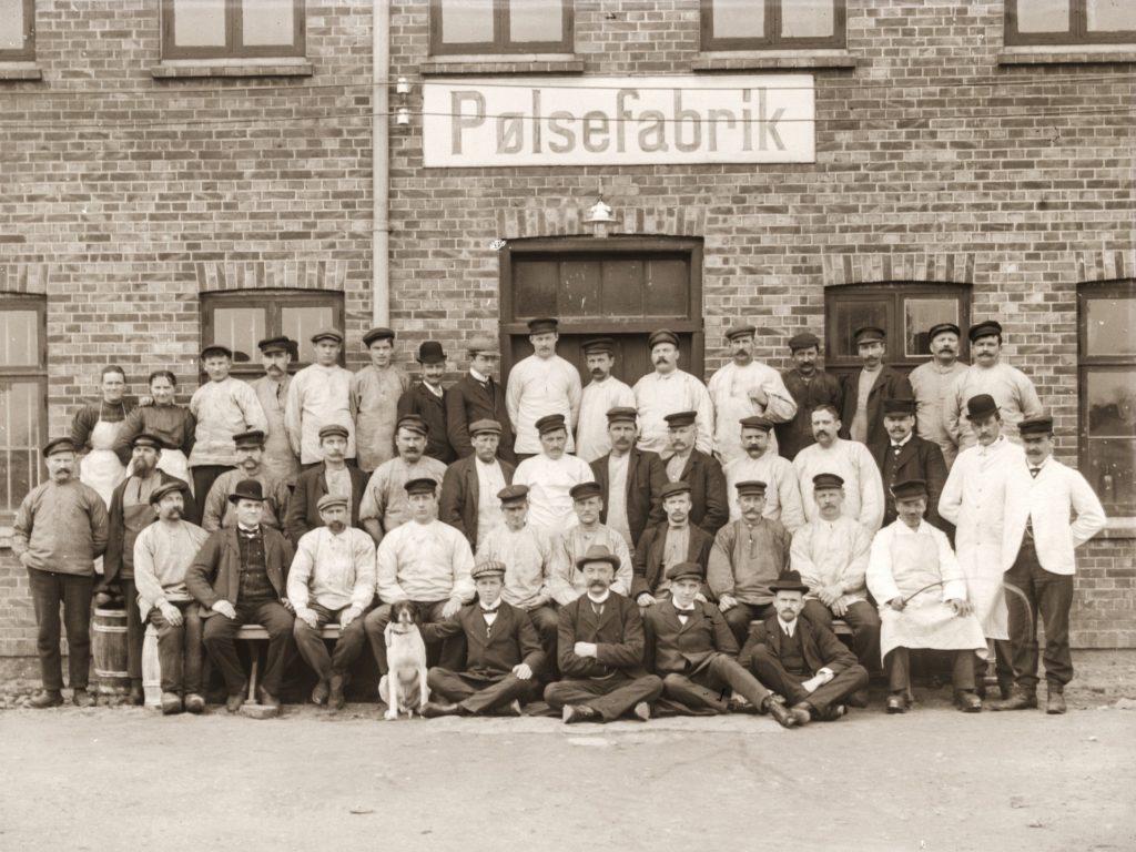 Pølsefabrikkens ansatte