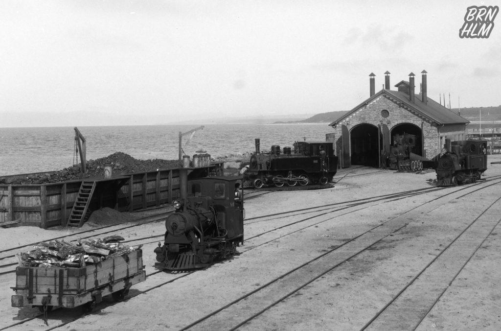 DBJ's Remise ved Rønne H Station