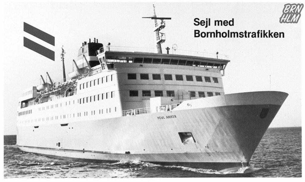 Bornholmstrafikken - Poul Anker - Reklame 1984