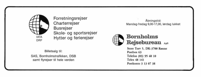 Bornholms Rejsebureau