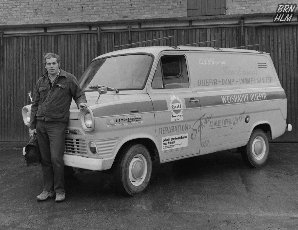 Finn Brandt VVS - Ford Transit - 1970'erne