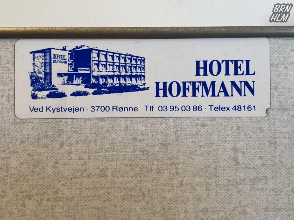 Hotel Hoffmann mærkat