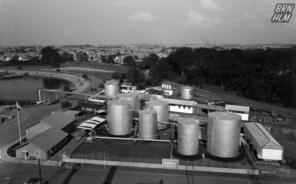 Shell og BPs depoter i Rønnes Sydhavn