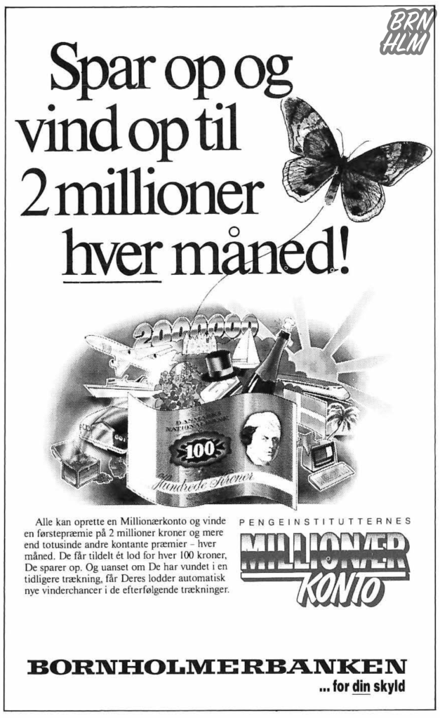 Bornholmerbanken reklame - 1996
