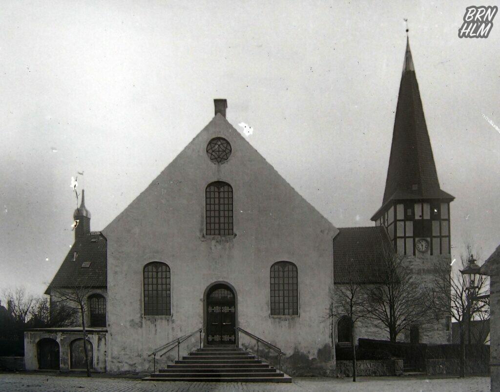 Sct. Nicolai kirke før ombygningen i 1914