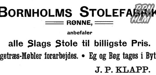 Bornholms Stolefabrik