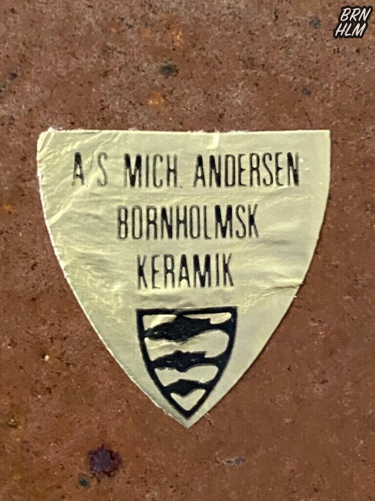 A/S Michael Andersen - Bornholmsk Keramik
