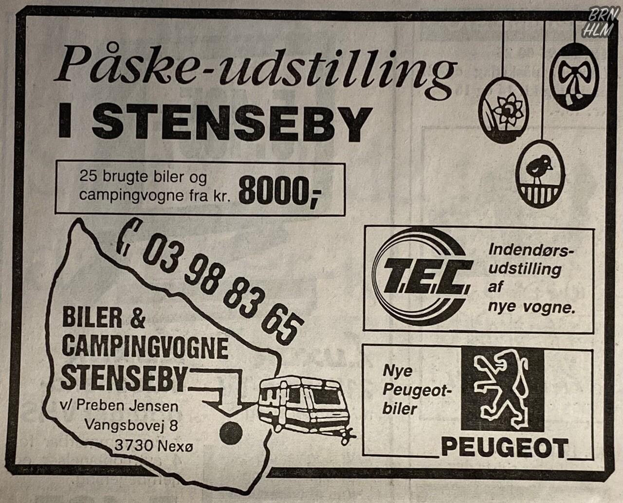 Peugeot - Biler & Campingvogne i Stenseby