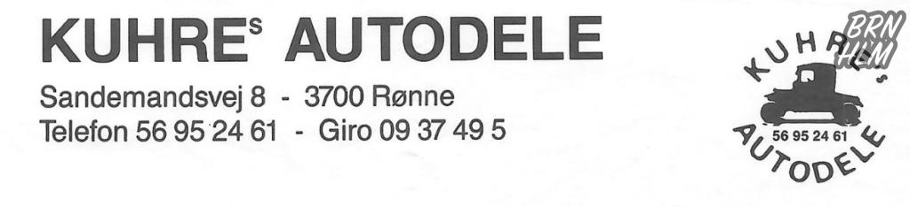 Kuhres Autodele - 1995