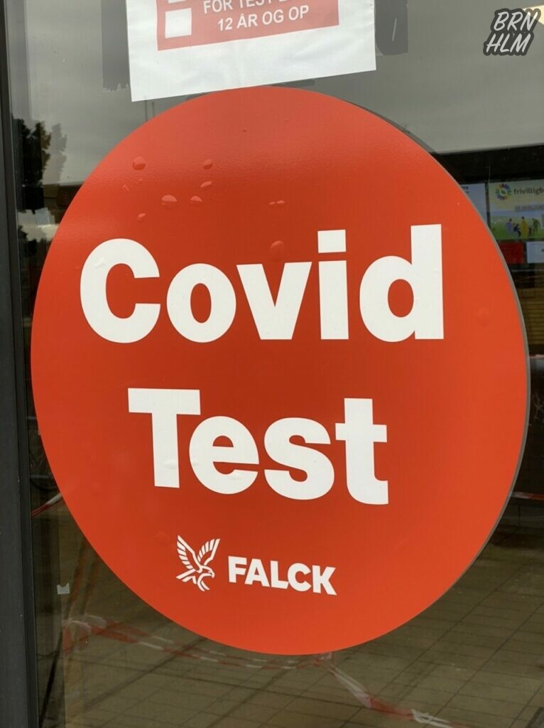 Falcks Covid Testcenter på Søndermark skolen