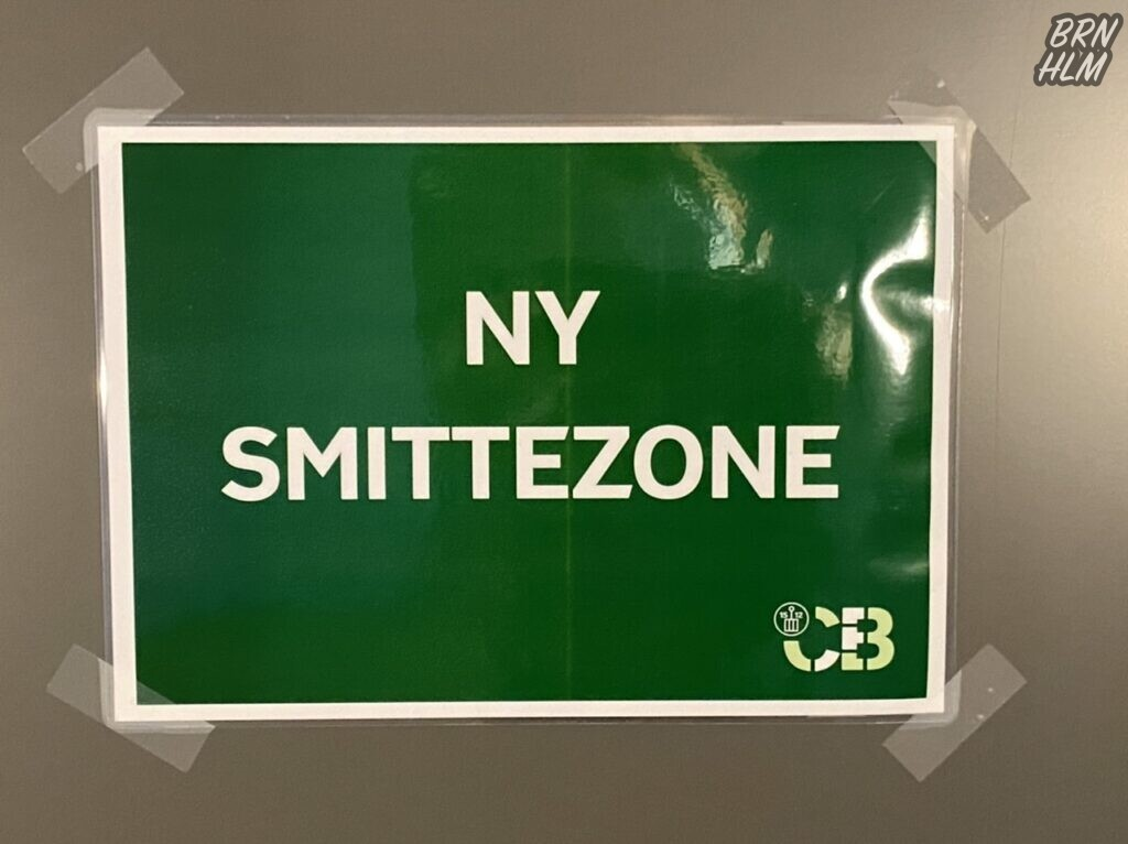 Campus Bornholm - Ny Smittezone