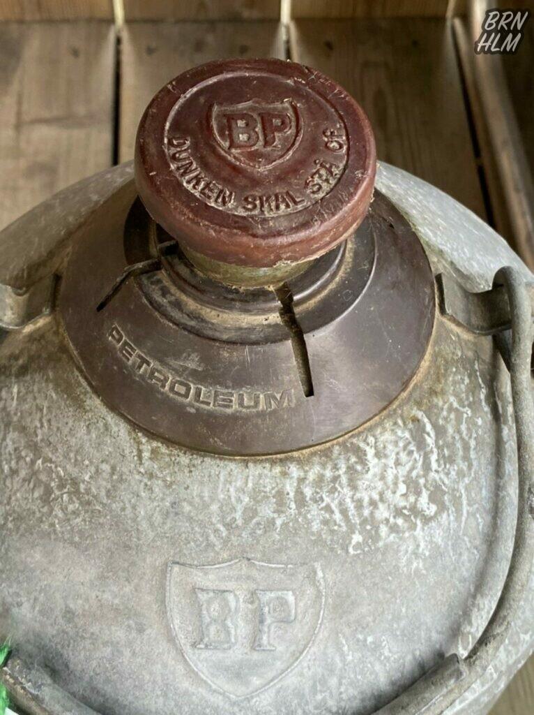 BP - Petroleums dunk i aluminium
