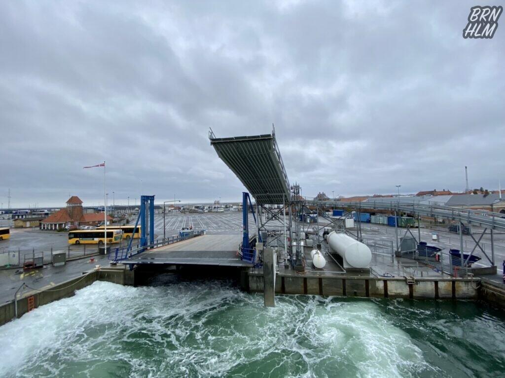 Rønne Havn - Bornholmslinjens ramper - April 2021