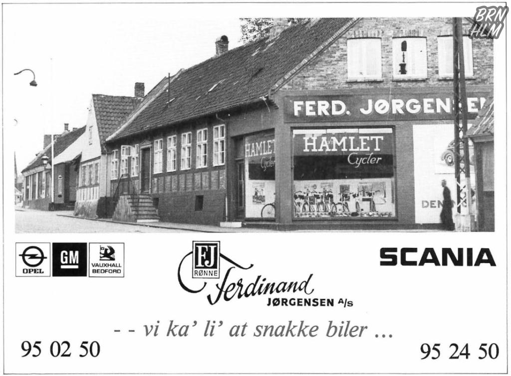 Ferdinand Jørgensen - Vi ka' li' at snakke biler...