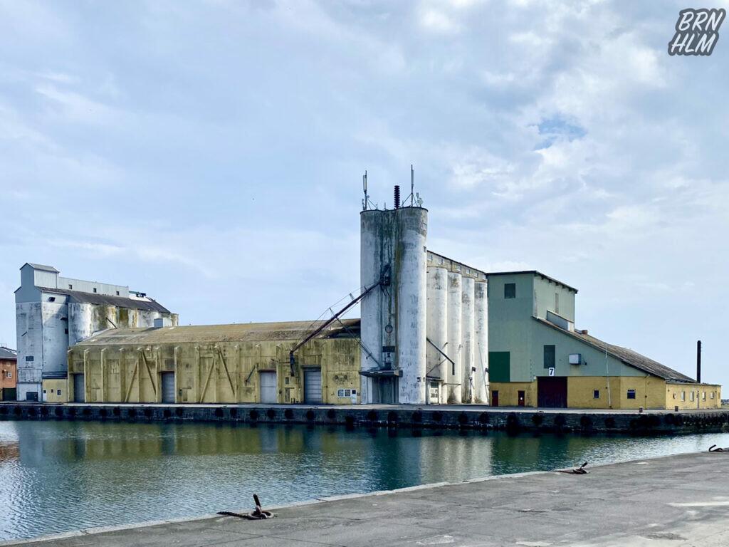 De lukkede siloer på Nexø havn - 2021