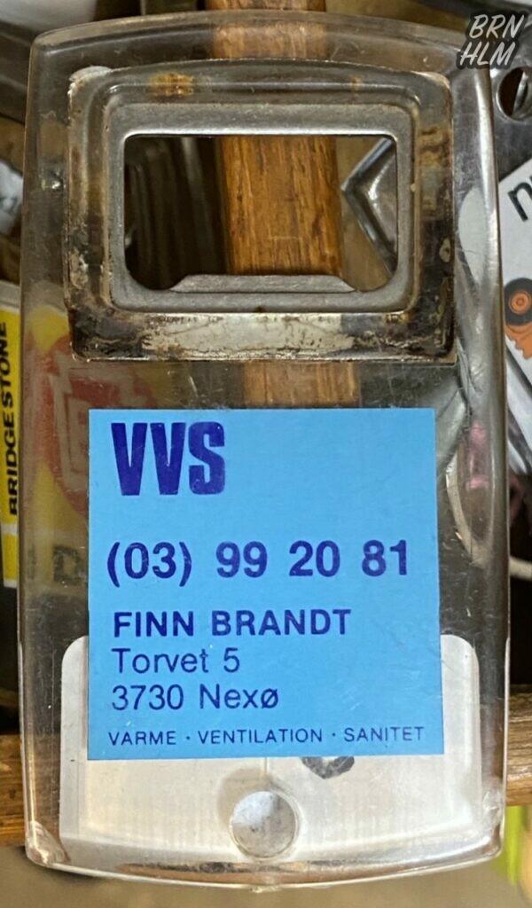 Finn Brandt VVS Nexø